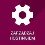 zarządzaj hostingiem