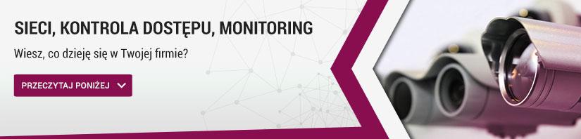 sieci, kontrola dostępu, monitoring